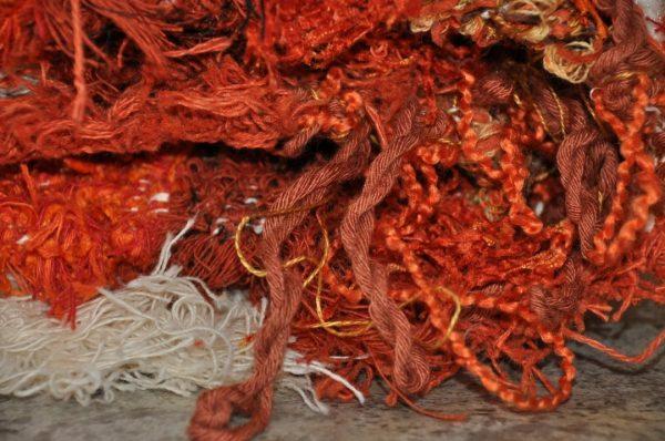 Naranja y crudo 170-240cm