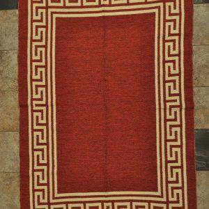 jarapa doble cara color roja 135-200cm