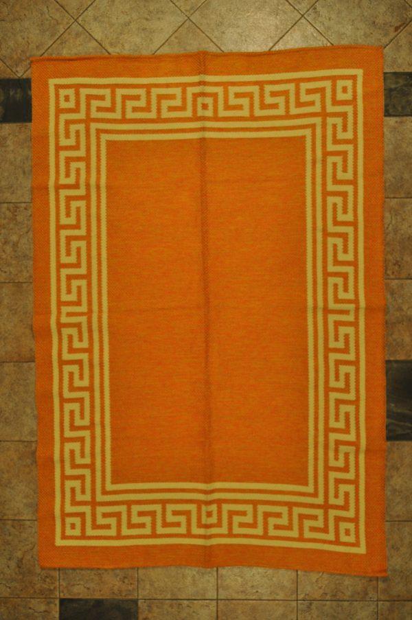 Jarapa de pelo corto naranja de 120-160cm