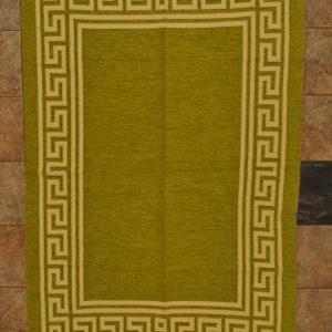 jarapa de doble cara verde pistacho 135-200cm