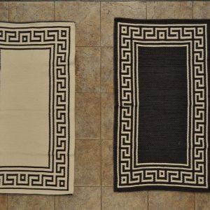 jarapa de doble cara pie de cama negra 0,70-120cm