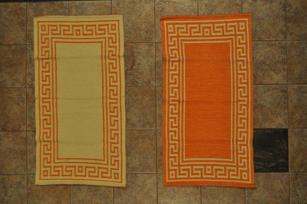 jarapa de doble cara naranja 0,70-120 cm