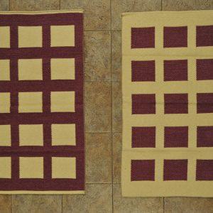 jarapa de doble cara de cuadros 0,70-120cm