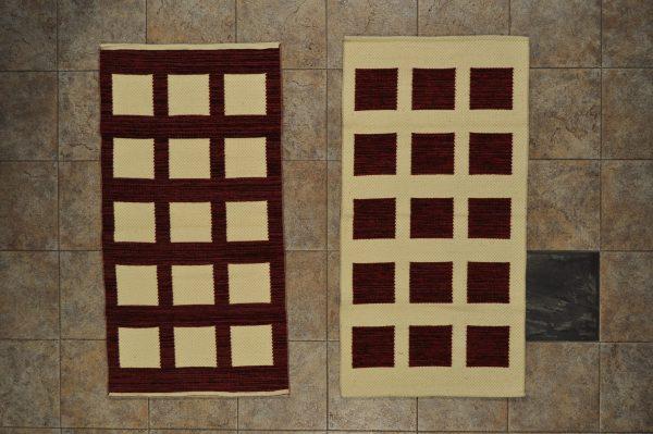 jarapa de doble cara 0,70-120 marrón chocolate