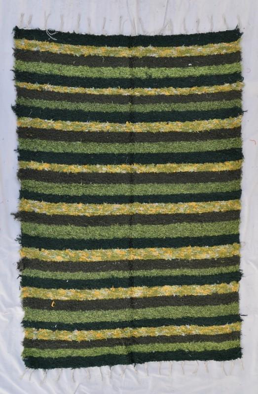 jarapa pelo largo verde 170-240cm