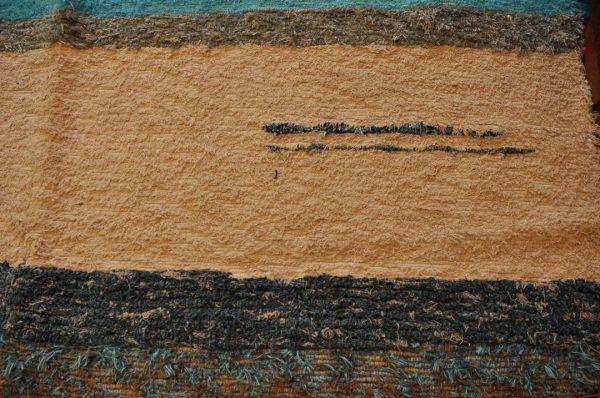 Azul y crudo 170-240cm