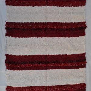 jarapa pelo largo 140-200cm andina roja