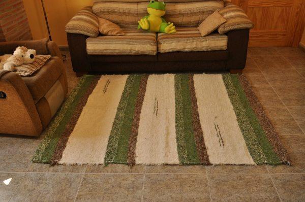 Verde y crudo 140-200cm