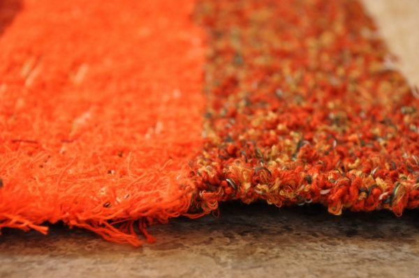 Naranja y crudo 140-200cm