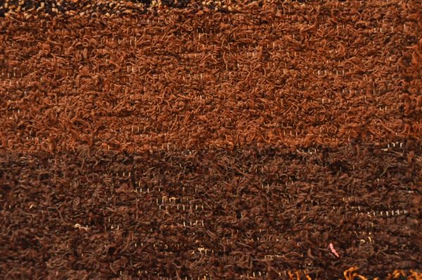 Marrón chocolate negro 120-160cm