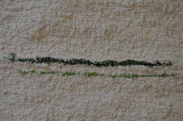 Verde y cruda pelo corto 120-160cm