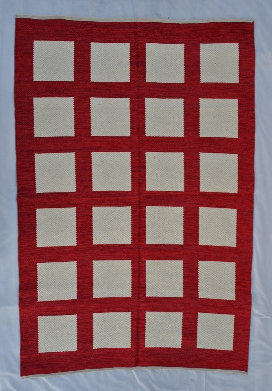 jarapa doble cara 150-220cm color roja