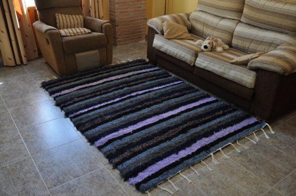 Azul-lila-gris-negro 140-200cm