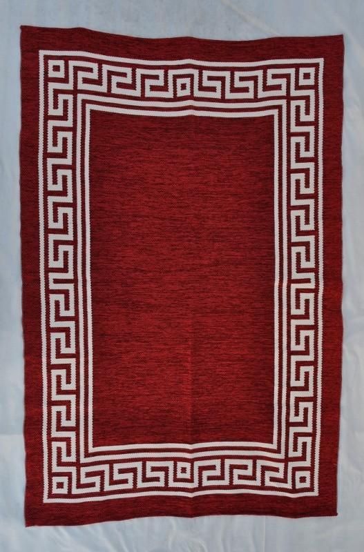 jarapa doble cara greca roja 150-230cm