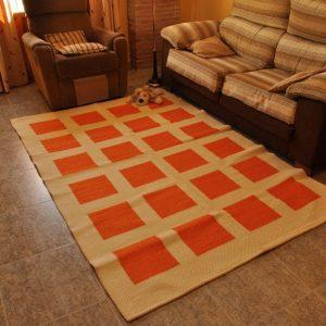 Cuadros naranja 135-200cm