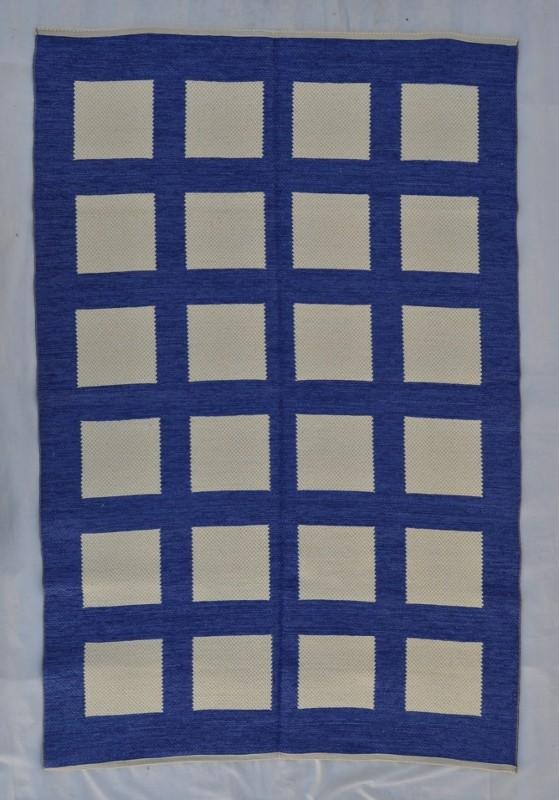 jarapa doble cara greca azul 135-200cm