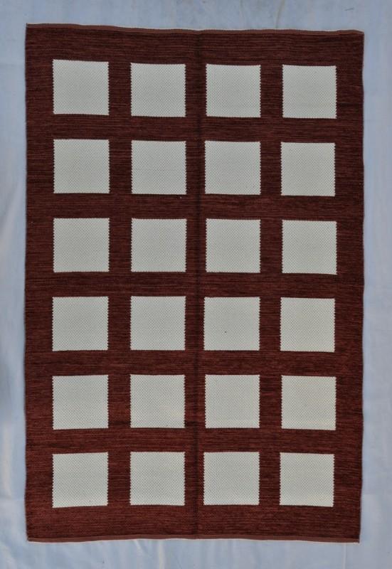 jarapa doble cara cuadros marrón 135-200cm