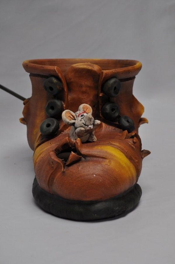 Lampara de bota pequeña