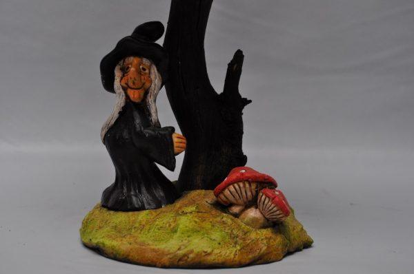 Lampara de bruja con tulípa