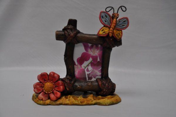 Portafotos Mariposa 20x 22 cm