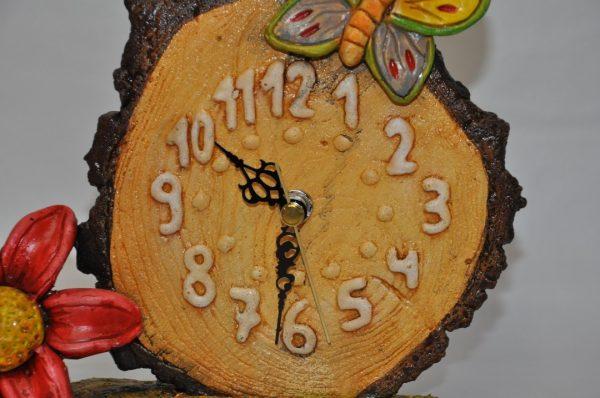 Reloj de Mariposa y Flor