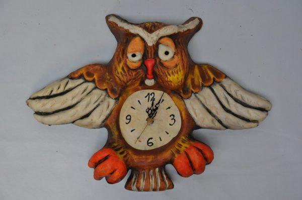 Reloj de colgar de Búho