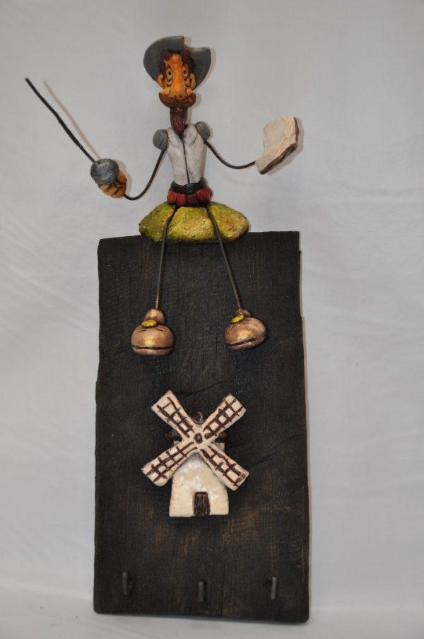 Colgador de llaves Don Quijote