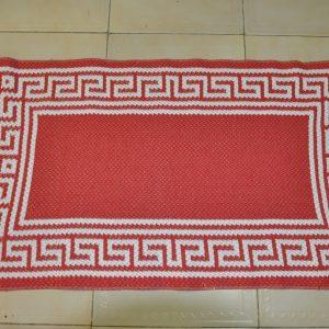 jarapa de baño 80-50cm roja