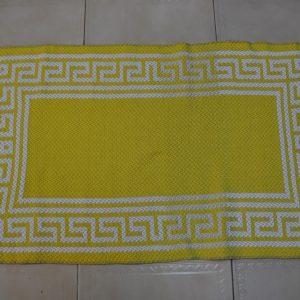 Jarapa de baño amarilla 80-50cm