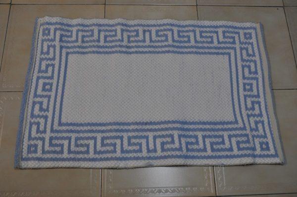 Jarapa de baño azul celeste 80-50cm