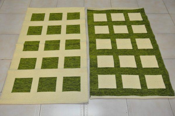 Pie de cama70-120cm verde oliva