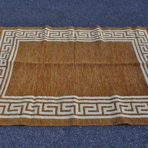 Greca marrón oro 120-160cm