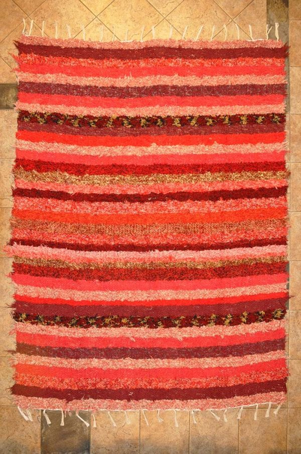 Roja pelo largo 120-160cm