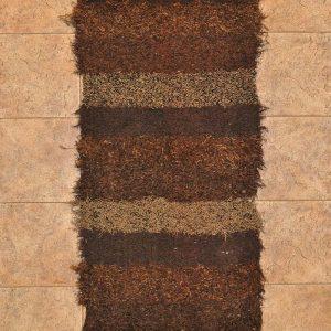 Marrón chocolate pelo largo 70-120cm