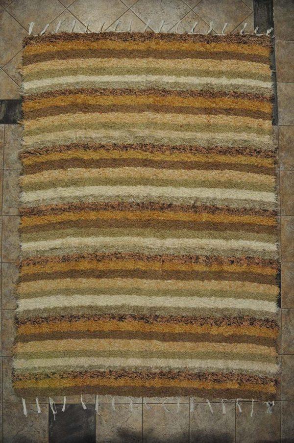 Marrón pelo largo170-240cm