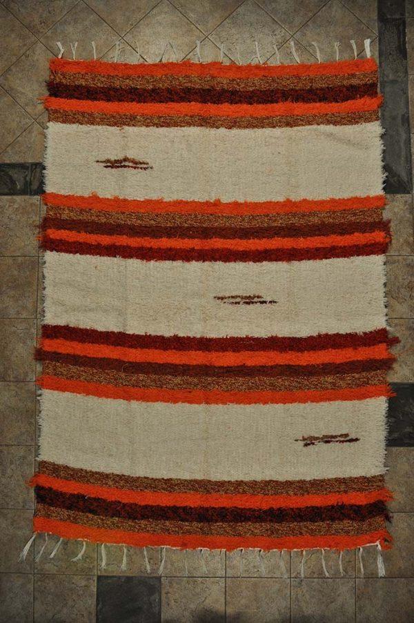 Andina naranja pelo largo 120-160cm