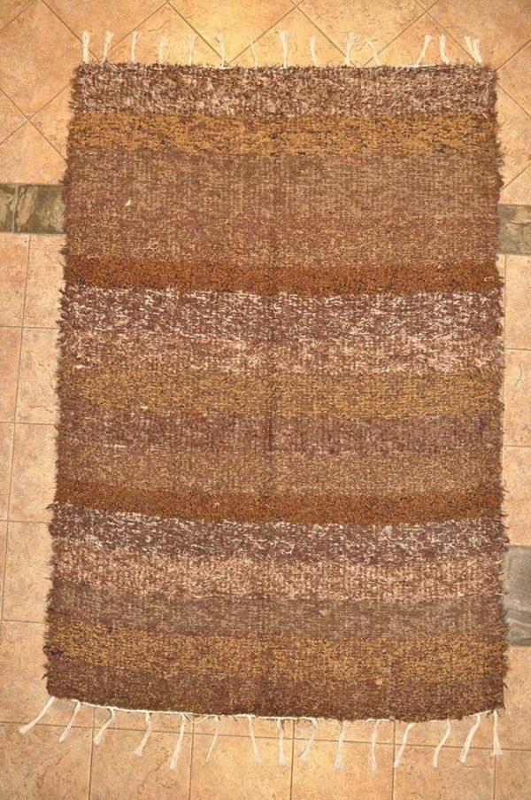 Marrón pelo largo 140-200cm