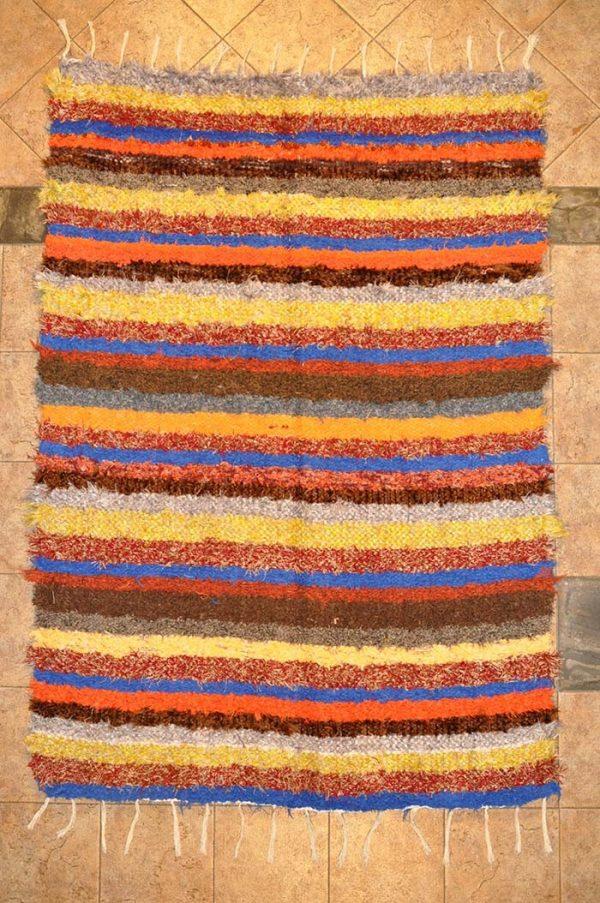 Multicolor pelo largo