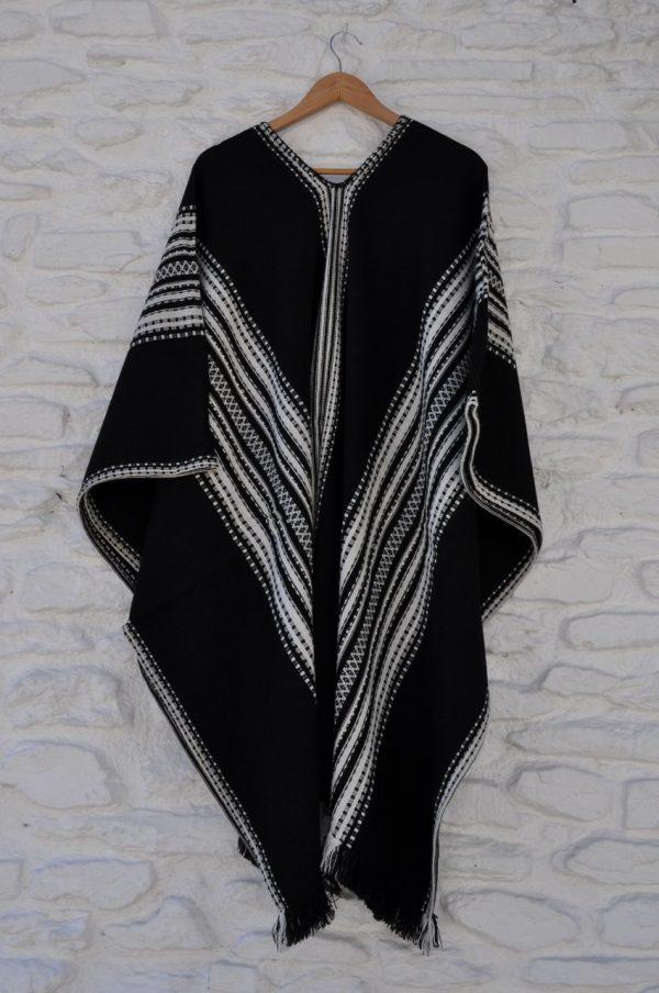 Poncho Alpujarreño negro