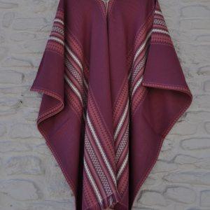 Poncho lila 140-200