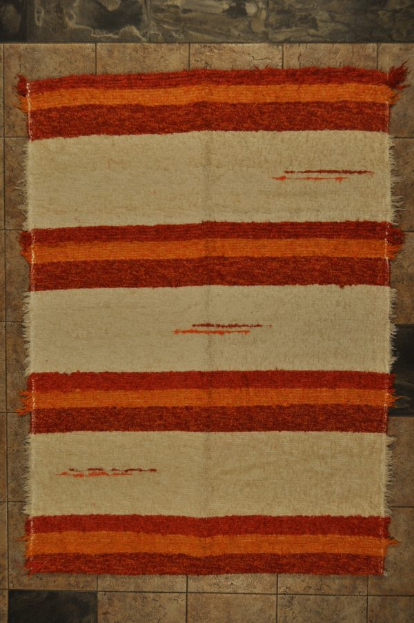 jarapa pelo corto andina naranja 120-160cm