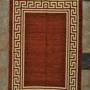 jarapa de doble cara color marrón claro 135-200cm