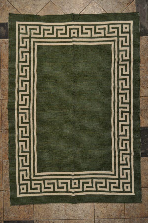 jarapa de doble cara color verde claro 135-200cm