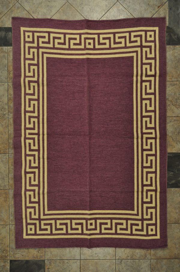 jarapa de doble cara color morado claro 135-200cm